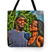 003 The Lion And Lioness Tote Bag