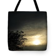003 When Feeling Down  Pick Your Head Up To The Skies Series Tote Bag