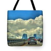 004 Grand Island Bridge Series  Tote Bag