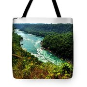 004 Niagara Gorge Trail Series  Tote Bag