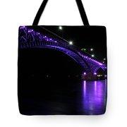 004 Peace Bridge Honoring Breast Cancer 2012 Series Tote Bag