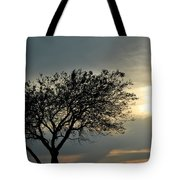 004 When Feeling Down  Pick Your Head Up To The Skies Series Tote Bag