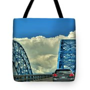 005 Grand Island Bridge Series  Tote Bag