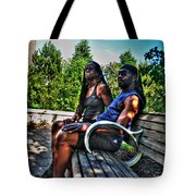 005 The Lion And Lioness Tote Bag