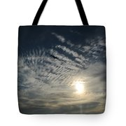 005 When Feeling Down  Pick Your Head Up To The Skies Series Tote Bag