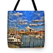 006 On A Summers Day  Erie Basin Marina Summer Series Tote Bag