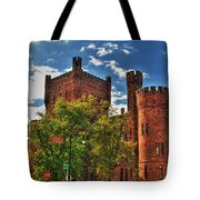 006 The 74th Regimental Armory In Buffalo New York Tote Bag