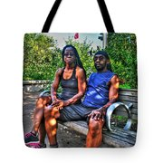 006 The Lion And Lioness Tote Bag