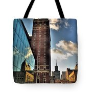 006 Wakening Architectural Dynamics Tote Bag