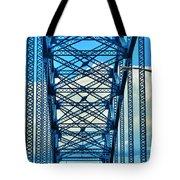 007 Grand Island Bridge Series  Tote Bag