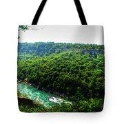 007 Niagara Gorge Trail Series  Tote Bag