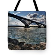 009  Peace Bridge Series II Beautiful Skies Tote Bag