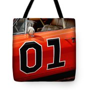 01 - The General Lee 1969 Dodge Charger Tote Bag