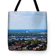 01 Toy Peace Bridge Tote Bag