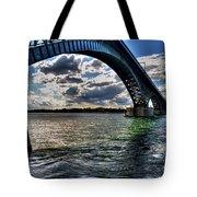 013 Peace Bridge Series II Beautiful Skies Tote Bag