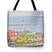 013 Series Of Buffalo Ny Via Birds Eye Erie Basin Marina Tote Bag