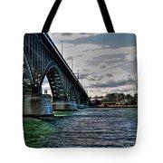 014 Peace Bridge Series II Beautiful Skies Tote Bag