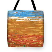 0145 Abstract Landscape Tote Bag