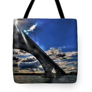 016 Peace Bridge Series II Beautiful Skies Tote Bag