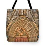 02 Church Doors Tote Bag