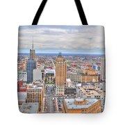 02 Series Of Buffalo Ny Via Birds Eye East Side Tote Bag