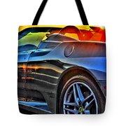 03 Ferrari Sunset Tote Bag