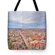 031 Series Of Buffalo Ny Via Birds Eye West Side Tote Bag