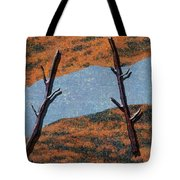 0361 Abstract Landscape Tote Bag