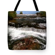 04 To The Three Sisters Island Tote Bag