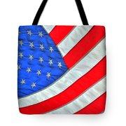 05 American Flag Tote Bag