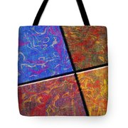 0580 Abstract Thought Tote Bag