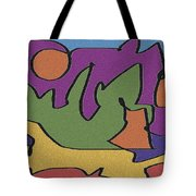0638 Abstract Thought Tote Bag