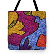 0665 Abstract Thought Tote Bag
