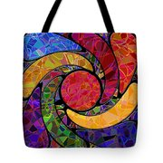 0677 Abstract Thought Tote Bag