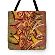 0695 Abstract Thought Tote Bag