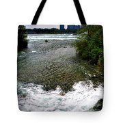 08 To The Three Sisters Island Tote Bag