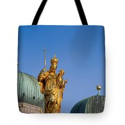 Towers Of Frauenkirche Tote Bag
