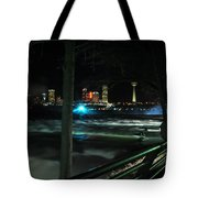 09 Niagara Falls Usa Rapids Series Tote Bag