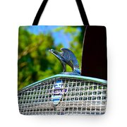 1931 Chevrolet Ae Independence Hood Ornament Tote Bag by Paul Ward