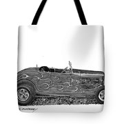 1932 Ford Hi Boy Hot Rod Tote Bag