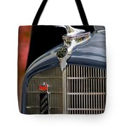1935 Reo Speedwagon Pickup Hood Ornament Tote Bag