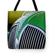 1937 Plymouth Hood Ornament Tote Bag