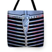 1939 Chevrolet Grille Tote Bag