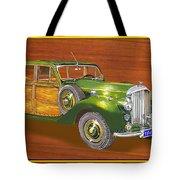 1947 Bentley Shooting Brake Tote Bag