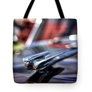 1949 Cadillac Hood Ornament Tote Bag
