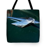 1950 Mercury Hood Ornament Tote Bag