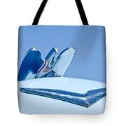 1954 Chrysler New Yorker Deluxe Hood Ornament Tote Bag