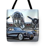 1957 Chevrolet Corvette Tote Bag