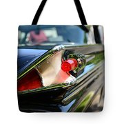 1958 Mercury Park Lane Tail Light Tote Bag