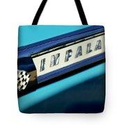 1959 Chevrolet Impala Emblem Tote Bag